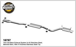 2.7L / 3.5L / 3.6L V6 Engine Parts - 2.7L / 3.5L / 3.6L Exhaust - Magnaflow - MagnaFlow Cat-Back Exhaust: Dodge Challenger 2009 - 2010 3.5L