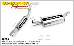 Dodge Durango Engine Performance - Dodge Durango Exhaust System - Magnaflow - MagnaFlow Cat-Back Exhaust: Dodge Durango 2007 - 2009 5.7L