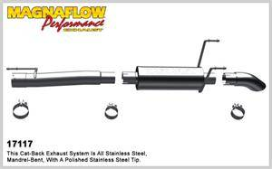 Magnaflow - MagnaFlow Off Road Cat-Back Exhaust: Dodge Ram 2006 - 2007 5.7L Hemi