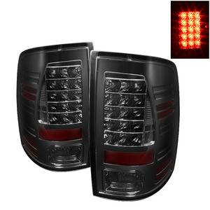 Dodge Ram Lighting Parts - Dodge Ram Tail Lights - Spyder - Spyder Smoke LED Tail Lights: Dodge Ram 2009 - 2012