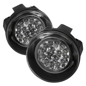 Dodge Durango Lighting Parts - Dodge Durango Fog Lights - Spyder - Spyder LED Fog Lights (Clear): Dodge Dakota / Durango 2001 - 2004