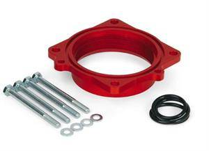 5.7L / 6.1L / 6.4L Hemi Engine Parts - Hemi Throttle Body & Spacer - PowerAid - PowerAid Throttle Body Spacer: Dodge Durango / Ram 5.7L Hemi 2003 - 2008