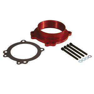Dodge Ram Engine Performance - Dodge Ram Throttle Body & Spacer - PowerAid - PowerAid Throttle Body Spacer: Dodge Ram 4.7L 2008 - 2012