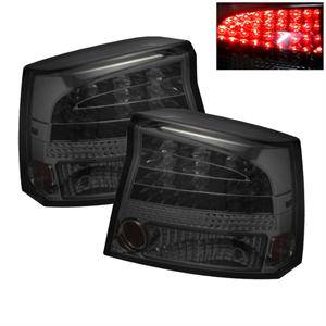 HEMI LIGHTING PARTS - Hemi Tail Lights - Spyder - Spyder Smoke LED Tail Lights: Dodge Charger 2006 - 2008