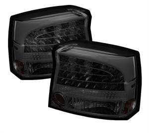 HEMI LIGHTING PARTS - Hemi Tail Lights - Spyder - Spyder Smoke LED Tail Lights: Dodge Charger 2009 - 2010
