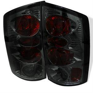 Dodge Ram Lighting Parts - Dodge Ram Tail Lights - Spyder - Spyder Smoke Euro Tail Lights: Dodge Ram 2002 - 2006 (All Models)