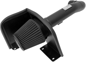 Dodge Challenger Engine Performance - Dodge Challenger Air Intake & Filter - K&N Filters - K&N Blackhawk Cold Air Intake: 300C / Challenger / Charger SRT8 2011 - 2017