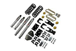 HEMI SUSPENSION PARTS - Hemi Lowering Springs - Belltech - Belltech Lowering Kit With SP Shocks: Dodge Ram (Regular Cab) 2002 - 2005