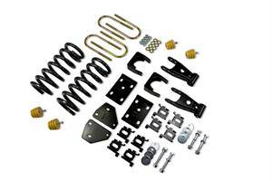 Belltech - Belltech Lowering Kit W/O Shocks: Dodge Ram (Quad Cab) 2002 - 2005