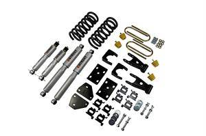 Belltech - Belltech Lowering Kit With SP Shocks: Dodge Ram (Quad Cab) 2002 - 2005