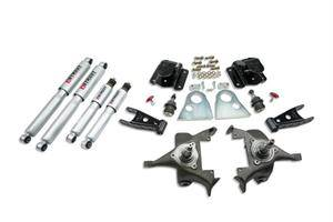 Belltech - Belltech Lowering Kit With SP Shocks: Dodge Ram V8 (Regular Cab Auto Trans) 1994 - 1999