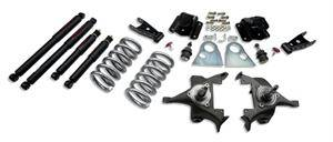 "Belltech - Belltech Lowering Kit 3"" F 4"" R drop With ND Shocks: Dodge Ram V8 (Regular Cab Auto Trans) 1994 - 1999"
