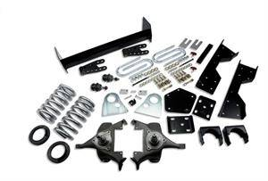 "Belltech - Belltech Lowering Kit 4"" or 5"" F 6"" or 7"" R drop W/O Shocks: Dodge Ram V8 (Regular Cab Auto Trans) 1994 - 1999"