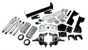 "Belltech - Belltech Lowering Kit 4"" or 5"" F 6"" or 7"" R drop With SP Shocks: Dodge Ram V8 (Regular Cab Auto Trans) 1994 - 1999"