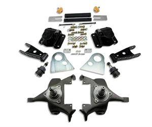 "Belltech - Belltech Lowering Kit 2"" F 4"" R drop W/O Shocks: Dodge Ram V8 (Extended Cab Auto Trans) 1994 - 1999"