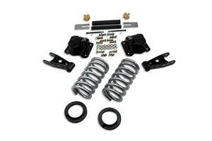 "HEMI SUSPENSION PARTS - Hemi Lowering Springs - Belltech - Belltech Lowering Kit 2"" Or 3"" F 4"" R drop W/O Shocks: Dodge Ram V8 (Extended Cab Auto Trans) 1994 - 1999"