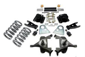 "Belltech - Belltech Lowering Kit 3"" F 4"" R drop W/O Shocks: Dodge Ram V8 (Extended Cab Auto Trans) 1994 - 1999"