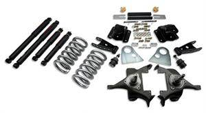 "Belltech - Belltech Lowering Kit 3"" F 4"" R drop With ND Shocks: Dodge Ram V8 (Extended Cab Auto Trans) 1994 - 1999"