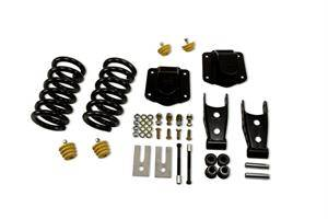 "Belltech - Belltech Lowering Kit 3"" F 4"" R drop W/O Shocks: Dodge Ram 2500 (V10 & Diesel) 1994 - 2002"