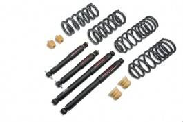 HEMI SUSPENSION PARTS - Hemi Lowering Springs - Belltech - Belltech Lowering Kit With ND Shocks: Dodge Ram (Quad & Crew Cab) 2009 - 2014