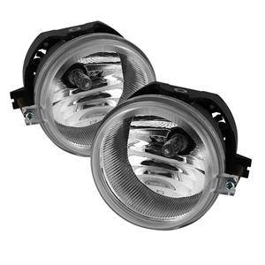 HEMI LIGHTING PARTS - Hemi Fog Lights - Spyder - Spyder OEM Style Fog Lights (Clear): Dodge Charger 2006 - 2010