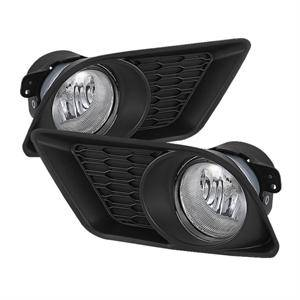 HEMI LIGHTING PARTS - Hemi Fog Lights - Spyder - Spyder OEM Style Fog Lights (Clear): Dodge Charger 2011 - 2014
