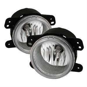 HEMI LIGHTING PARTS - Hemi Fog Lights - Spyder - Spyder OEM Style Fog Lights (Clear): Dodge Magnum 2005 - 2008