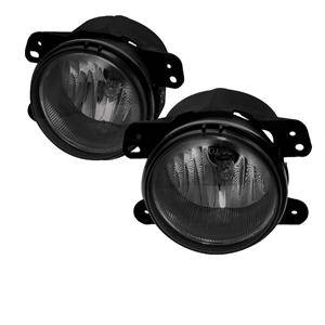 HEMI LIGHTING PARTS - Hemi Fog Lights - Spyder - Spyder OEM Style Fog Lights (Smoke): Dodge Magnum 2005 - 2008