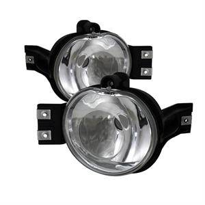 Dodge Durango Lighting Parts - Dodge Durango Fog Lights - Spyder - Spyder OEM Style Fog Lights (Euro Clear): Dodge Ram / Durango 2002 - 2008