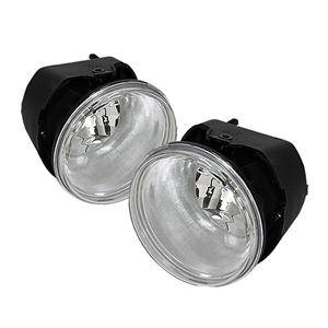 Dodge Dakota Lighting Parts - Dodge Dakota Fog Lights - Spyder - Spyder OEM Style Fog Lights (Clear): Jeep Grand Cherokee / Dakota / Durango 2005 - 2009