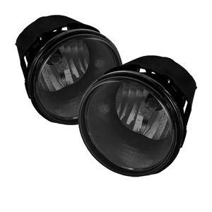 Dodge Dakota Lighting Parts - Dodge Dakota Fog Lights - Spyder - Spyder OEM Style Fog Lights (Smoke): Jeep Grand Cherokee / Dakota / Durango 2005 - 2009