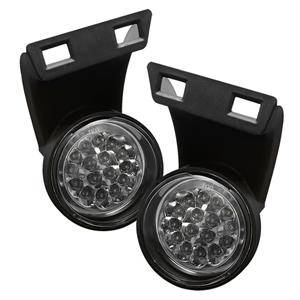 HEMI LIGHTING PARTS - Hemi Fog Lights - Spyder - Spyder LED Fog Lights (Clear): Dodge Ram 1994 - 2001