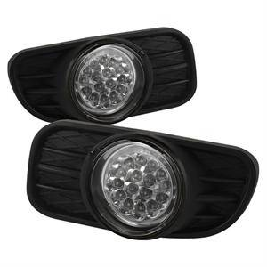 Spyder - Spyder LED Fog Lights (Clear): Jeep Grand Cherokee 1999 - 2004
