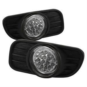 Jeep Grand Cherokee Lighting Parts - Jeep Grand Cherokee Fog Lights - Spyder - Spyder LED Fog Lights (Clear): Jeep Grand Cherokee 1999 - 2004