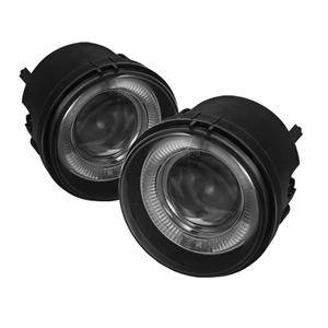Dodge Charger Lighting Parts - Dodge Charger Fog Lights - Spyder - Spyder Projector Fog Lights (Smoke): Dodge Charger 2006 - 2010