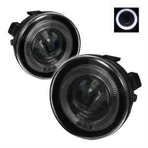 Dodge Dakota Lighting Parts - Dodge Dakota Fog Lights - Spyder - Spyder Halo Projector Fog Lights (Smoke): Dodge Dakota / Durango 2001 - 2004