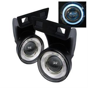 Spyder - Spyder Halo Projector Fog Lights (Clear): Dodge Ram 1994 - 2001