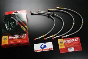 Chrysler 300 Brake Upgrades - Chrysler 300 Brake Lines SS - Goodridge - Goodridge G-Stop Brake line Kit: 300 / Challenger / Charger / Magnum SRT8 2006 - 2012