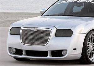 Chrysler 300 Exterior Parts - Chrysler 300 Light Covers - GTS - GT Styling Smoke Headlight Covers: Chrysler 300 2005 - 2010