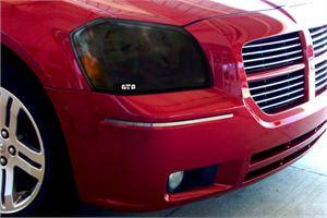 GTS - GT Styling Smoke Headlight Covers: Dodge Magnum 2005 - 2007