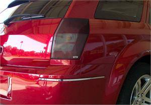 Dodge Magnum Exterior Parts - Dodge Magnum Light Covers - GTS - GT Styling Smoke Tail Light Covers: Dodge Magnum 2005 - 2007