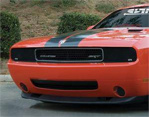 HEMI LIGHTING PARTS - Hemi Blackout Covers - GTS - GT Styling Smoke Fog Light Covers: Dodge Challenger 2008 - 2014