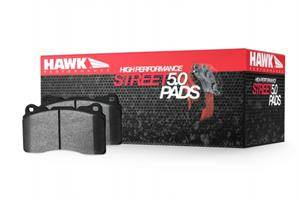 HEMI BRAKE PARTS - Hemi Brake Pads - Hawk - Hawk HPS 5.0 Rear Brake Pads: 300 / Charger / Challenger / Magnum SRT8 2006 - 2016