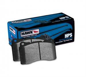 DODGE DURANGO PARTS - Dodge Durango Brake Upgrades - Hawk - Hawk HPS Front Brake Pads: Durango / Grand Cherokee 2011 - 2018 (All Models)