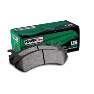 HEMI BRAKE PARTS - Hemi Brake Pads - Hawk - Hawk LTS Front Brake Pads: Durango / Dakota / Ram 2002 - 2011 (All Models)