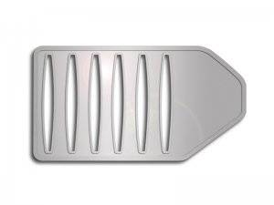 Chrysler 300 Engine Accessories - Chrysler 300 Stainless Accessories - American Car Craft - American Car Craft Polished Air Box Cover: Chrysler 300C / Dodge Charger 2011 - 2020