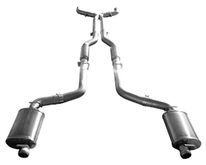 Chrysler 300 Engine Performance - Chrysler 300 Exhaust System - American Racing Headers - American Racing Headers Cat-Back Exhaust System: Chrysler 300C / Charger / Magnum 2005 - 2014 (5.7L / 6.1L / 6.4L)