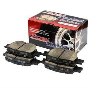 Chrysler 300 Brake Upgrades - Chrysler 300 Brake Pads - Stoptech - Stoptech PosiQuiet Front Brake Pads: 300 / Challenger / Charger / Magnum 2005 - 2020 (V6 w/ Solid Rear Disc)