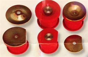 HEMI SUSPENSION PARTS - Hemi Suspension Bushings - Prothane - Prothane Sub Frame Bushings: Chrysler 300C / Dodge Challenger / Charger / Magnum 2005 - 2010
