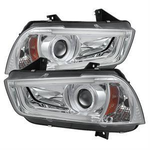 Spyder - Spyder Projector Headlights (Chrome): Dodge Charger 2011 - 2014